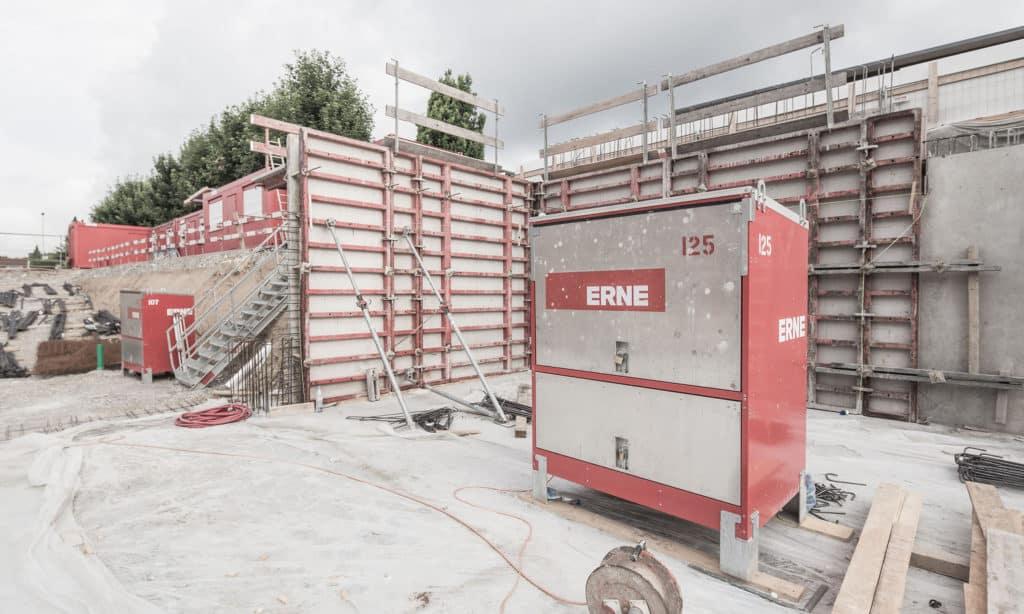 Neubau Behindertenwohnheim Stiftung MBF, Stein. Tiefgarage