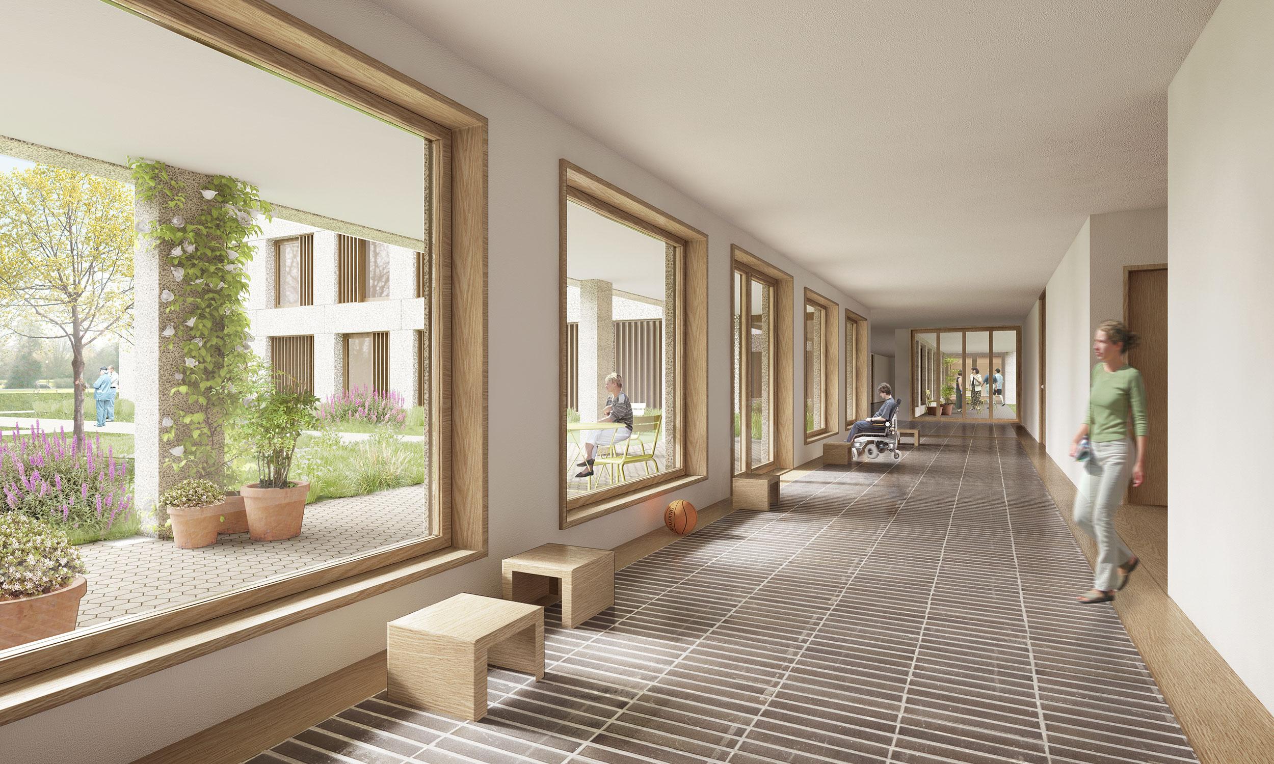 Wohnheim sonnegarte st urban mark zi rjen architekten for 03 architekten